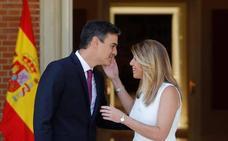Sánchez anuncia a Susana Díaz que Andalucía contará con 500 millones de euros «inmediatos»