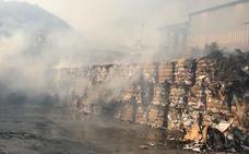 El fuego quema en Casares 227 hectáreas y cien balas de cartón