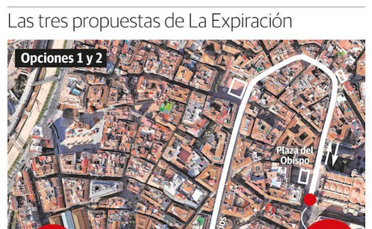 Expiración propone ampliar el recorrido oficial