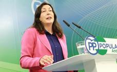 El PP-A critica que Díaz «se calle» y «traicione» a Andalucía para evitar enfrentamientos con Sánchez