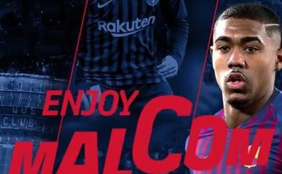 El Barcelona le 'roba' a Malcom a la Roma