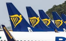 La huelga de Ryanair transcurre sin incidencias ni más cancelaciones de las previstas en Málaga