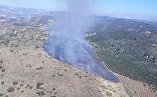 Estabilizado un incendio forestal en Cuevas de San Marcos
