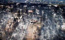 El gobierno griego asume su «responsabilidad política» y pide mano dura contra los incendiarios