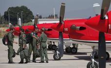 Llegan a Málaga los primeros aviones del Torre del Mar Air Show