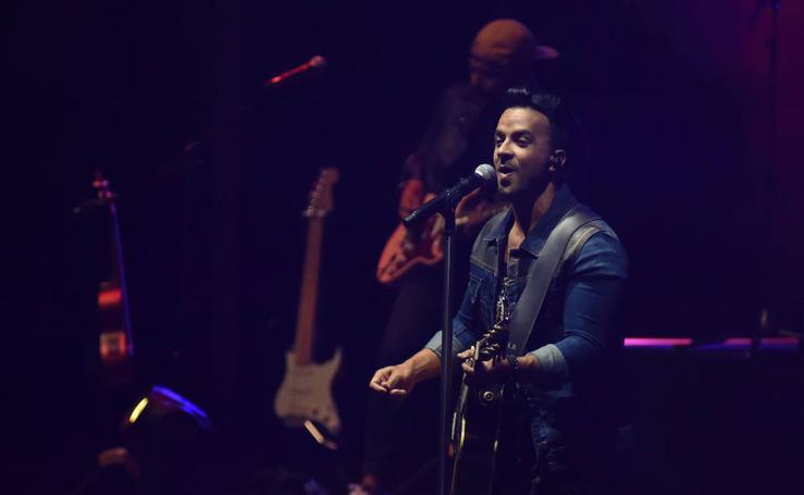 Luis Fonsi, en concierto en Starlite Marbella