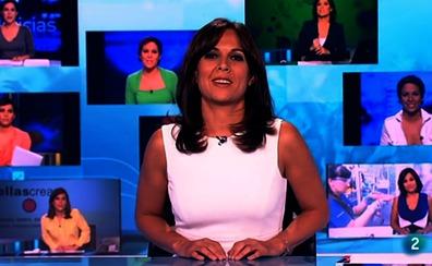 Flores y aplausos en la sentida despedida de Mara Torres al frente de 'La2 Noticias'