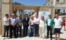 Málaga instala en la playa un punto para detectar el fototipo de la piel e informar sobre sus cuidados