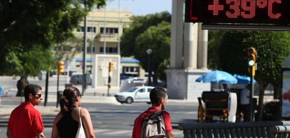 Málaga, en aviso amarillo hoy por temperaturas de hasta 38 grados