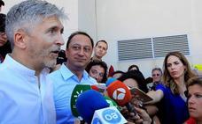 Marlaska niega en Algeciras el colapso migratorio
