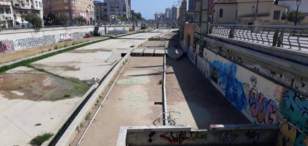 Cauce del Guadalmedina: fuentes y estanques sin utilizar