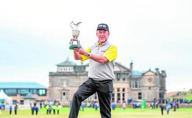 Jiménez gana el British sénior en la catedral del golf