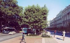 El Ayuntamiento de Málaga planea que toda la Alameda esté en obras tras el verano