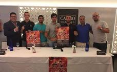 El Casino Marbella acogió la presentación del combate de boxeo entre Kerman Lejarraga y Di Rocco