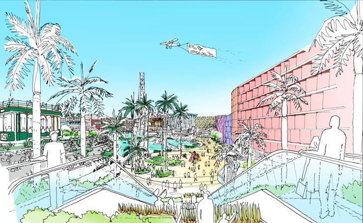 Así será el Centro Comercial de Torremolinos de la inmobiliaria Intu