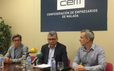 Los empresarios de polígonos de Málaga denuncian que en feria no les recogen las basuras