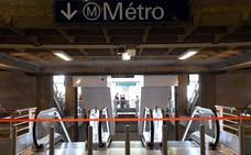 Una avería obliga a evacuar a más de 3.000 pasajeros del metro de París