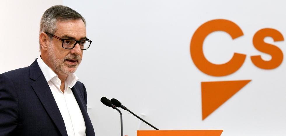 Ciudadanos exige a Sánchez que suspenda el diálogo con la Generalitat