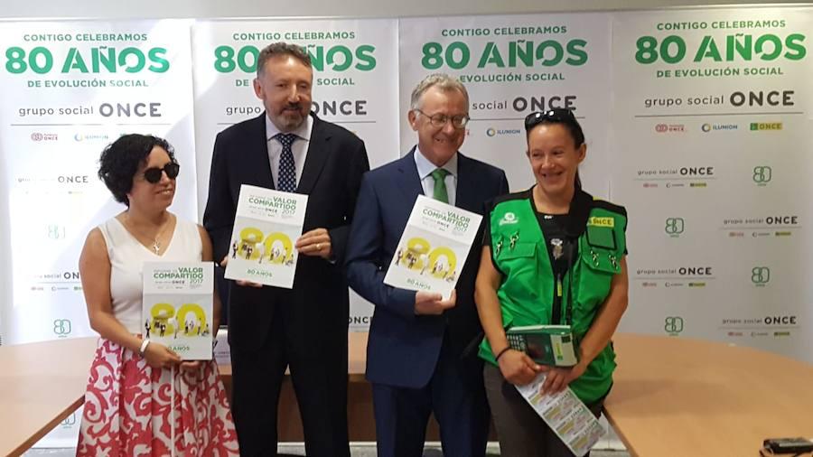 La ONCE vende más de 115 millones en Málaga, un 7% más que en el año anterior