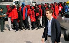 Casado reclama en Algeciras un «plan Marshall» en África para frenar la inmigración