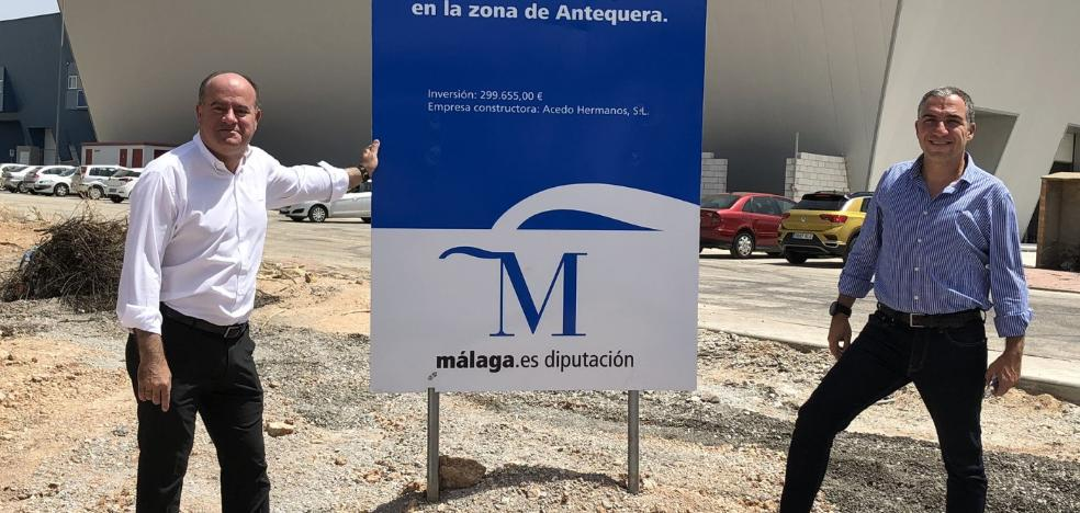 Finalizan las obras de mejora del acceso al Centro Logístico desde Cartaojal