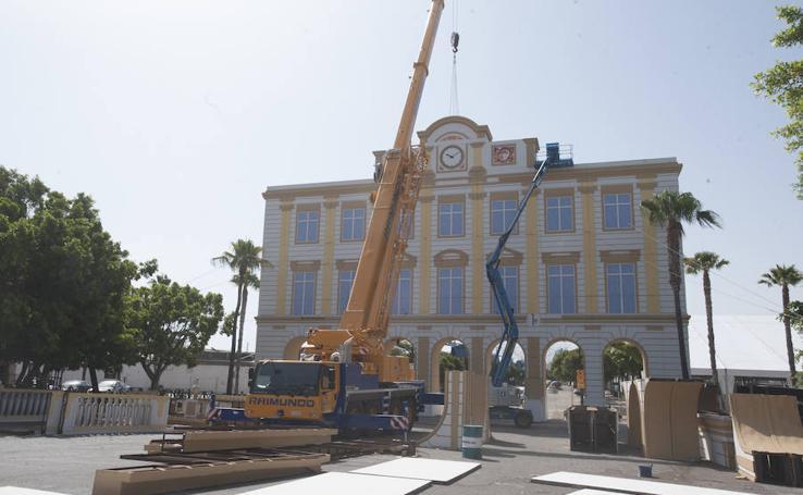 El Real del Cortijo de Torres se prepara para la Feria de Málaga
