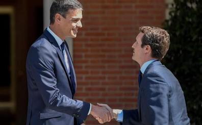 Casado plantea a Sánchez una lucha sin cuartel: «Con Cataluña no vamos a pasar ni una»