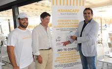 Marbella estrena la primera aplicación móvil de alquiler de hamacas en España