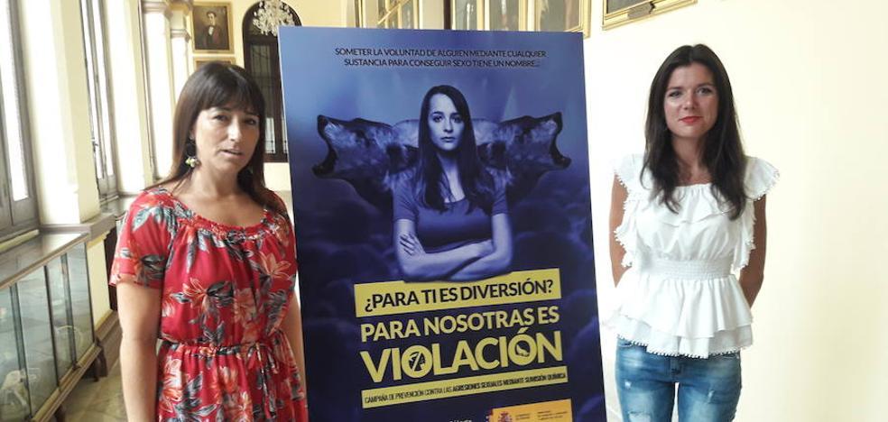 El Ayuntamiento de Málaga recoge el testigo del 8M en una campaña contra las drogas para violaciones
