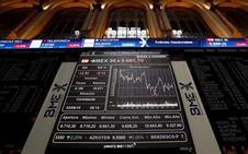 El Ibex reconquista los 9.700 puntos y pierde en la semana un 1,3%