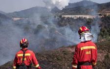 El incendio más grave del verano calcina más de mil hectáreas en Nerva