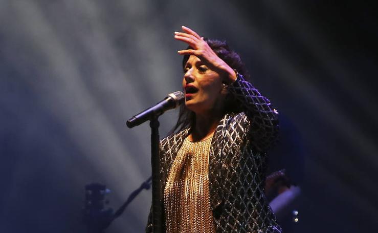 Luz Casal en el Marenostrum Music Castle Park de Fuengirola