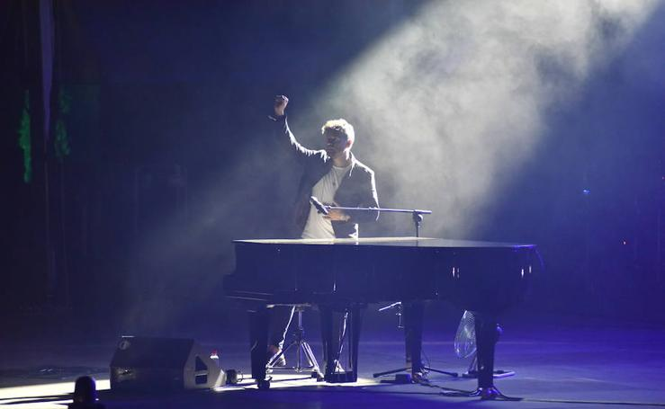 Pablo López brilla con luz propia en Starlite Marbella