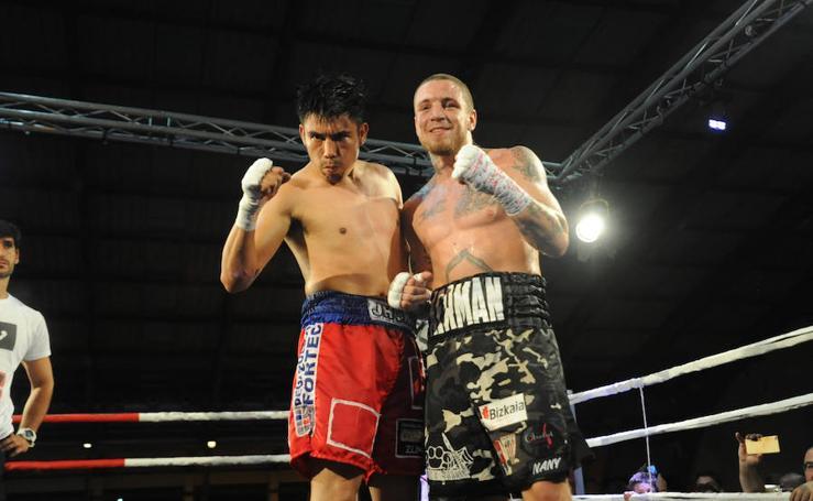 Kerman Lejarraga en la Gold Boxing de Marbella