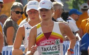 Takács estrena el medallero español en los 50 kilómetros marcha