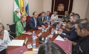 Refuerzan la labor policial ante la intencionalidad en los últimos fuegos de Huelva