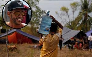 Pablo Martín, el ángel malagueño del terremoto de Indonesia