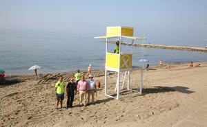 El Ayuntamiento de Marbella instala 15 módulos de socorrismo a lo largo del litoral