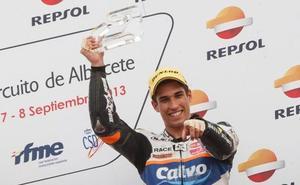 Alejandro Medina seguirá en el Mundial de Moto2 y correrá el Gran Premio de Austria