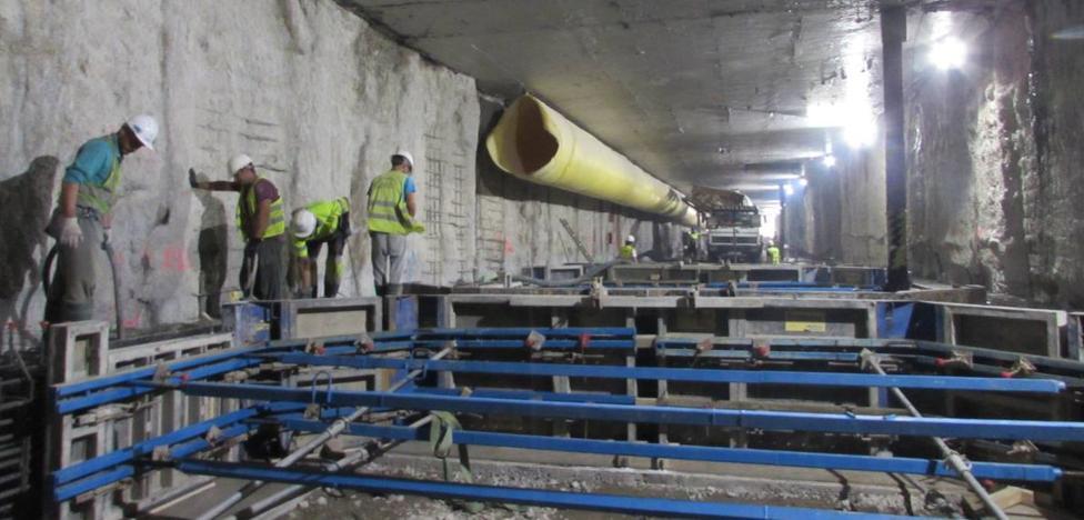 La fase crítica de las obras del metro en la Alameda terminará en octubre