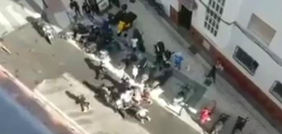 Investigan una pelea multitudinaria entre residentes y turistas en Nerja