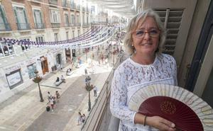 Teresa Porras: «Si la gente colabora en ambiente y en limpieza, la feria será para enmarcar»