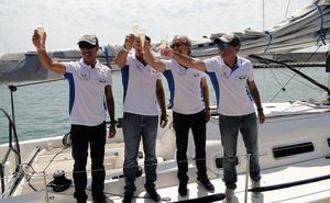 Benalmádena recibe al 'Antonio Banderas Design' tras ganar la Copa del Rey