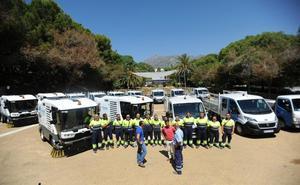 El Ayuntamiento de Marbella adquiere maquinaria para limpiar cerca de 800 urbanizaciones