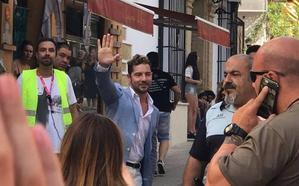 David Bisbal graba en Marbella su nuevo videoclip