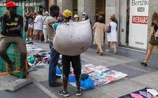 Detenido un mantero por la agresión al turista norteamericano en Barcelona