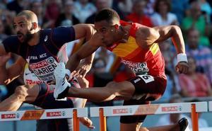 Orlando Ortega gana el bronce en los 110 metros vallas