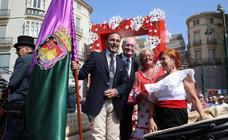 Todas las imágenes del primer sábado de la Feria de Málaga 2018
