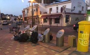 La huelga de limpieza en Fuengirola alcanza el cien por cien en las primeras horas sin que haya negociación