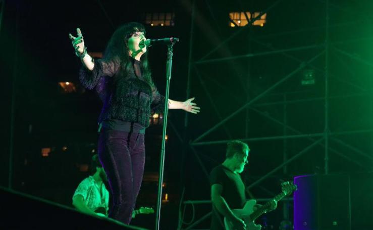 Así fue el concierto de Efecto Mariposa en la inauguración de la Feria de Málaga 2018